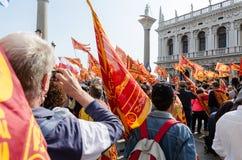 Venetianische Separatisten stockbild