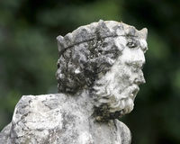 Venetianische Statue an den Vizcaya-Gärten und dem Museum Stockfotografie
