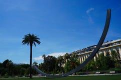 Venetianischer Bogen im Park Alberts 1 stockbild