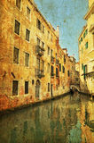 Venetianischer großartiger Kanal Lizenzfreie Stockfotografie