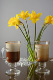 Venetianischer Kaffee Stockfoto