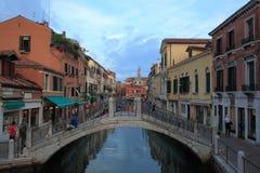 Venetianischer Kanal stockfoto