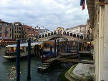 Venetianischer Kanal Lizenzfreies Stockfoto