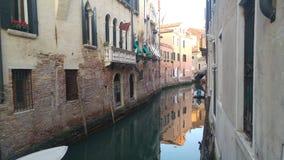 Venetianischer Kanal Stockfotos