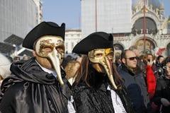 Venetianischer Karneval Stockfotografie