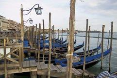 Venetianischer Pier Stockfotos