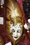 Venetianischer Schablonenkarneval Lizenzfreie Stockbilder