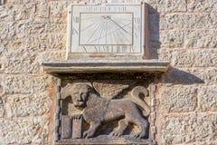 Venetianischer winged Löwe Stockbild