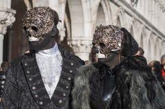 Venetianisches carnival-2013 Lizenzfreies Stockfoto