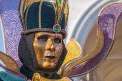Venetianisches carnival-2013 Lizenzfreies Stockbild