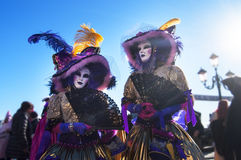 Venetianisches carnival-2013 Lizenzfreie Stockfotografie