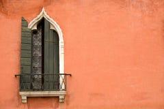 Venetianisches Fenster Stockbild