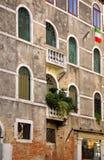 Venetianisches Haus Stockfotografie