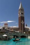 Venetianisches Hotel u. Kasino - Las Vegas Stockbild