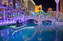 Venetianisches Las Vegas Stockfoto