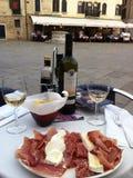 Venetianisches Mittagessen Stockbild