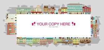 Venetianisches Quadrat, italienische Landschaft Lizenzfreies Stockfoto