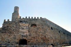 Venetianisches Schloss (Koules), in Kreta, Griechenland Lizenzfreies Stockbild