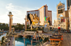 Venetianisches Urlaubshotel und Kasino in Las Vegas Stockfotos