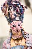 Venetianisches verdecktes Modell vom Venedig-Karneval Lizenzfreie Stockfotografie