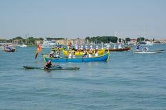 Venetians celebra il della Sensa di Festa Fotografie Stock Libere da Diritti