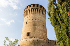 Venetians medieval  Fortress in Brisighella Royalty Free Stock Image