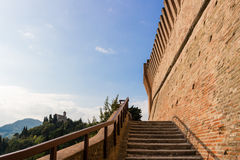 Venetians medieval  Fortress in Brisighella Stock Photos
