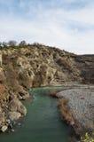 Venetikos-Fluss in Grevena, Griechenland lizenzfreie stockfotos