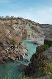 Venetikos-Fluss in Grevena, Griechenland stockfotografie