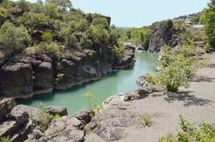 Venetikos river in  Grevena , Greece Royalty Free Stock Photography