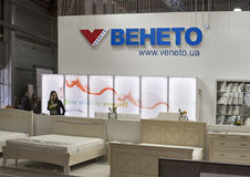 Veneto furniture company booth Royalty Free Stock Image