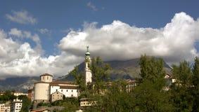 Veneto, Italië, Belluno Stock Afbeelding