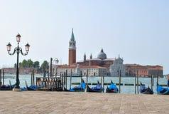 Veneza é cidade velha e bonita Fotografia de Stock Royalty Free