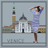 Veneza 1 Imagem de Stock Royalty Free