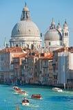 Veneza, basílica da saudação do della de Santa Maria, fotografia de stock