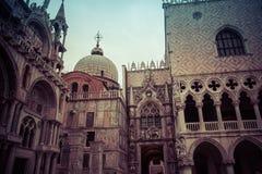 Veneza, basílica de San Marco Fotos de Stock Royalty Free