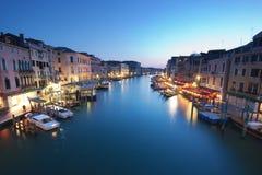 Veneza - canal grande Imagem de Stock Royalty Free