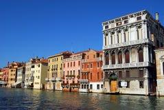 Veneza - canal grande imagem de stock