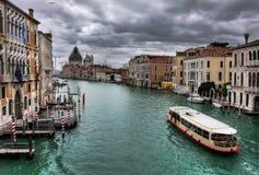 Veneza. Canal grande #9. Imagem de Stock Royalty Free
