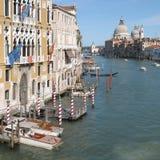 Veneza: Canal grandioso Fotos de Stock Royalty Free