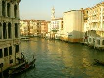 Veneza: Canal grandioso Foto de Stock