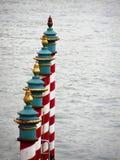 Veneza - canal grandioso, HDR Fotografia de Stock