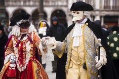 Veneza Carnevale-2012 Fotos de Stock Royalty Free