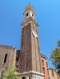 Veneza - catedral ortodoxo grega de St George Imagem de Stock