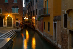 Veneza, cidade romântica. Imagem de Stock Royalty Free