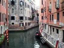 Veneza e a gôndola Fotos de Stock Royalty Free