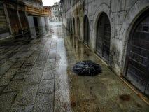 Veneza em um dia chuvoso Imagens de Stock