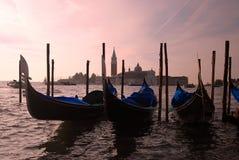 Veneza - gôndola Fotografia de Stock Royalty Free