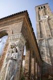 Veneza - glock-torre do console de Murano Fotografia de Stock
