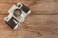 VENEZA, ITÁLIA - 13 DE MAIO DE 2017: Um Contax III é um fil do vintage 35mm Foto de Stock Royalty Free